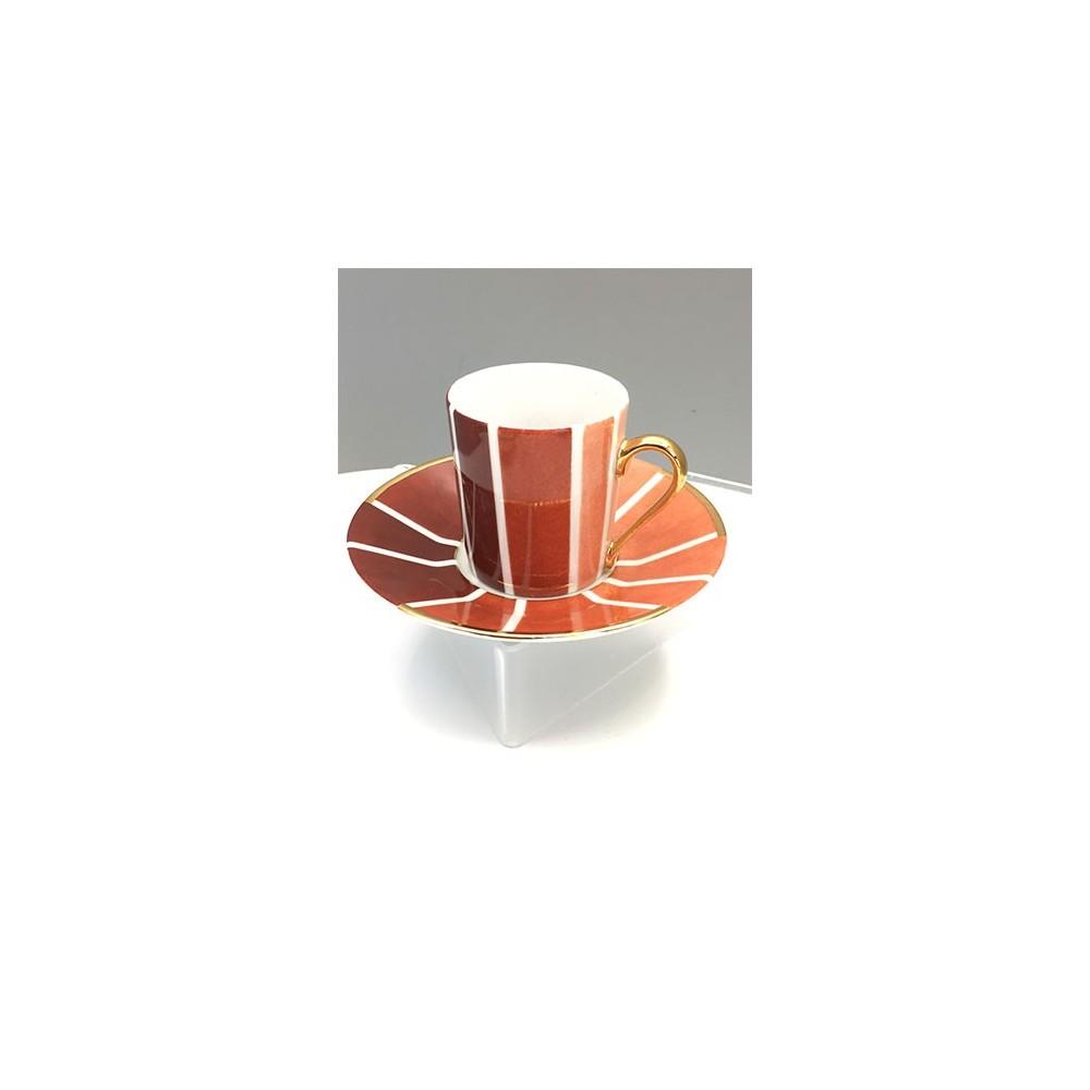 Tasse à café 1930 - Brun