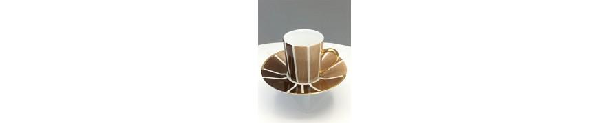 Tasse à café 1930 - Marron