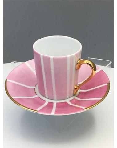 Tasse à café 1930 - Rose