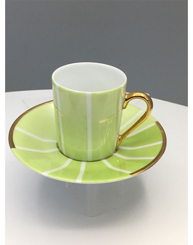 Tasses à café 1930 -  Vert printanier