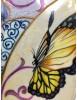 Assiette Papillon verso - Lamartine.